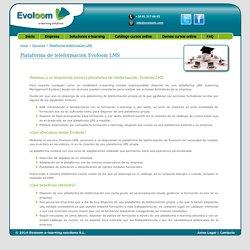 Plataforma de teleformación LMS - Evoloom e-learning solutions