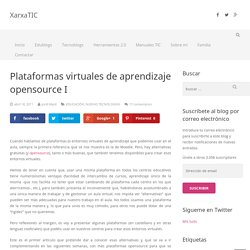 Plataformas virtuales de aprendizaje opensource I