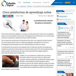 Cinco plataformas de aprendizaje online