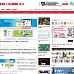 25 plataformas de contenido educativo