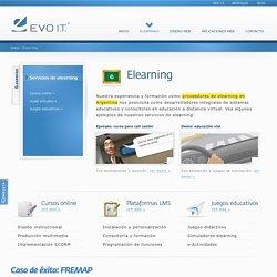 EVO I.T. - Empresa de elearning - Argentina, Córdoba - Cursos online, plataformas virtuales y juegos educativos