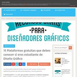 15 Plataformas gratuitas que debes conocer si eres estudiante de Diseño Gráfico - Blog Ibearts