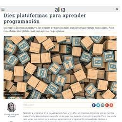 Diez plataformas para aprender programación - Aika Educación