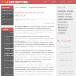 Plataformas virtuales para la educación