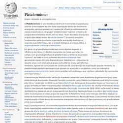 Plataformismo