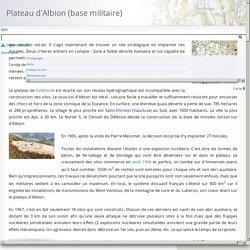 Plateau d'Albion (base militaire)