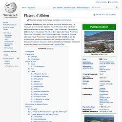 Plateau d'Albion