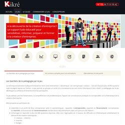 Kikré, le jeu de plateau de la création d'entreprise Le jeu - Kikré, le jeu de plateau de la création d'entreprise