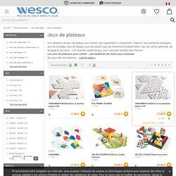 Jeux de plateau, jeux de société enfant - Wesco