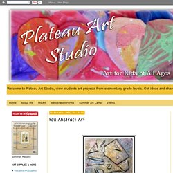 PLATEAU ART STUDIO: Foil Abstract Art