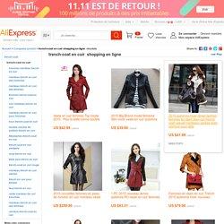 Trench-coat en cuir achats en ligne, le monde plus grand trench-coat en cuir commerces de détail plateforme de guidage sur AliExpress.com