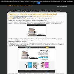 Easyclass – Plateforme d'apprentissage individuel