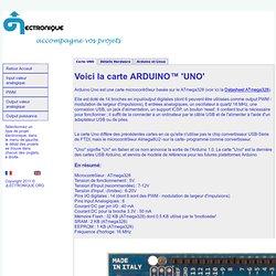 Arduino™ UNO