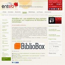 BiblioBox.net : une plateforme pour partager et échanger sur l'expérience de BiblioBox en bibliothèque
