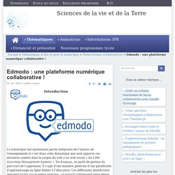 Edmodo : une plateforme numérique collaborative !
