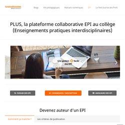 La plateforme collaborative des EPI au collège