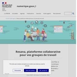 Resana, plateforme collaborative pour vos groupes de travail