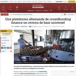 Une plateforme allemande de crowdfunding finance un revenu de base universel