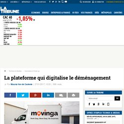 La plateforme qui digitalise le déménagement