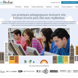 myBeebac - plateforme de classes inversées pour l'éducation