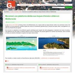 Mocomed, une plateforme dédiée aux risques d'érosion côtière en Méditerranée