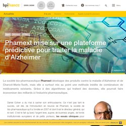 Pharnext mise sur une plateforme prédictive pour traiter la maladie d'Alzheimer