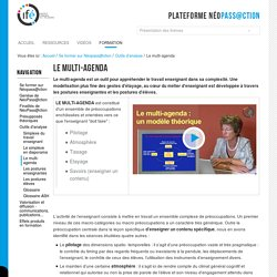 Le multi-agenda — 3-Ifé - Plateforme néo-titulaires - NéoPass@ction