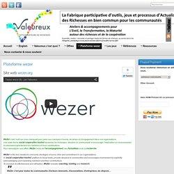 Plateforme wezer