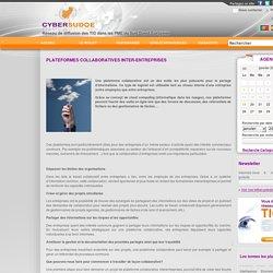 Plateformes collaboratives inter-entreprises - Actualités TIC