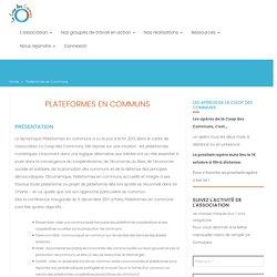 Plateformes en Communs - La Coop des Communs