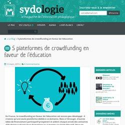 5 plateformes de crowdfunding en faveur de l'éducation - Sydologie