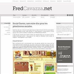 Social Games, une mine d'or pour les plateformes sociales