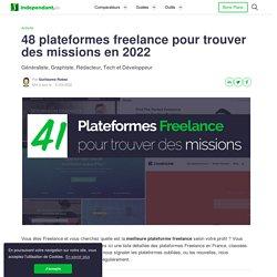 48 Plateformes Freelance pour trouver des missions en 2020 !