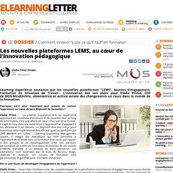 Les nouvelles plateformes LEMS, au cœur de l'innovation pédagogique
