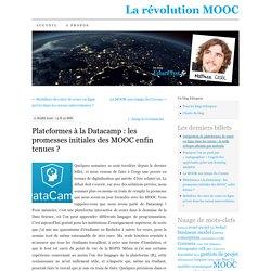 Plateformes à la Datacamp : les promesses initiales des MOOC enfin tenues ?