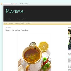 Rasam — Hot and Sour Vegan Soup