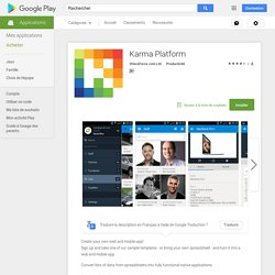 Karma Platform – Applications Android sur Google Play