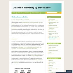 Outside In Marketing by Steve Keifer