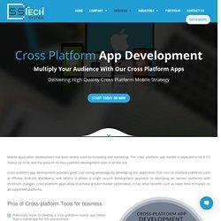 Cross Platform Mobile App Development CompanyIndia& Australia