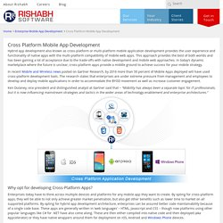 Multi-Platform App Development Company