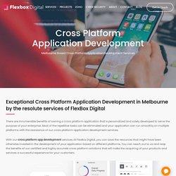 Cross Platform App Development Company Melbourne