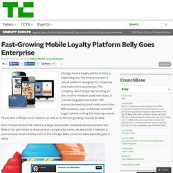 Fast-Growing Mobile Loyalty Platform Belly Goes Enterprise
