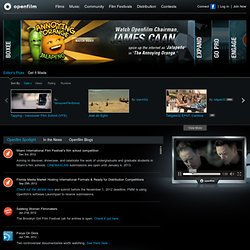 Open Film | Online Video Platform for Filmmakers & Film Festivals. Short films contests