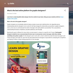 What is the best online platform for graphic designers?