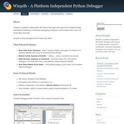 Winpdb - A Platform Independent Python Debugger » About