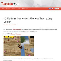 10 Platform Games for iPhone with Amazing Design