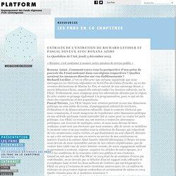 Platform - Les FRAC en 10 chapitres