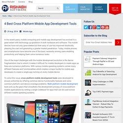 Best Cross Platform Mobile Development Tools: Pros and Cons