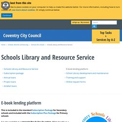 Schools Library and Resource Service