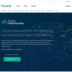 Welcome to Cloud Foundry